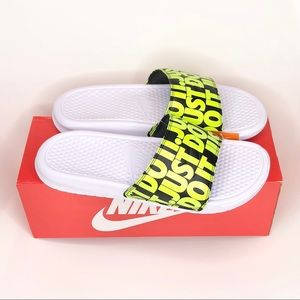 New Nike Benassi JDI print men's 9